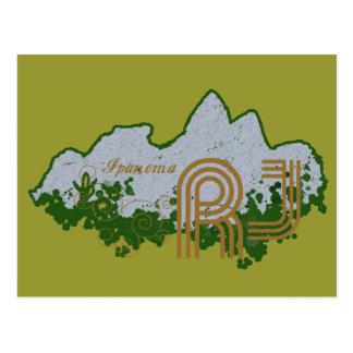 """Leblon """"Dois Irmãos"""" mountain Postcard"""
