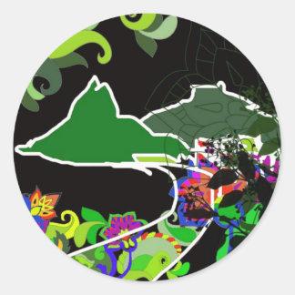 Leblon - Rio De Janeiro Classic Round Sticker