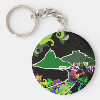 Leblon Rio de Janeiro Keychain