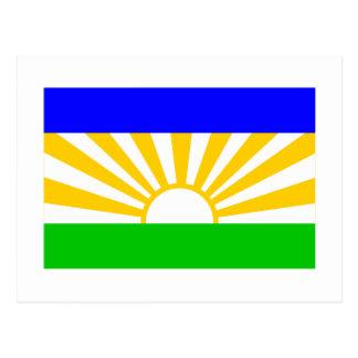 Lebowa Flag Postcards
