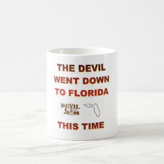 Lebron James Devil Went Down to Florida Cup