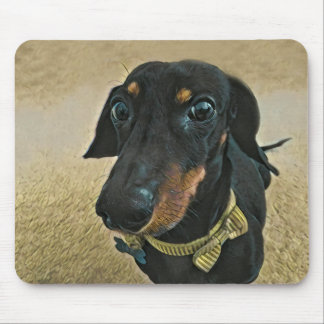 LeBron the Dachshund Mouse Pad