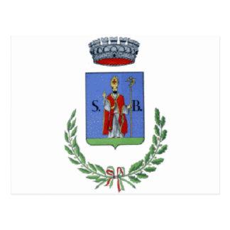 Lecce_nei_Marsi-Stemma Tarjeta Postal