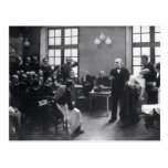 Lección con el doctor Charcot en el Salpetriere Postal