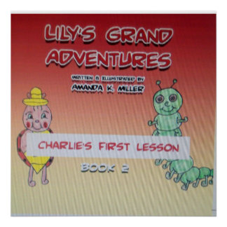 Lección de Charlies de las aventuras magníficas de Póster