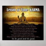 Lección de las KARMAS del ~ del tiempo Poster