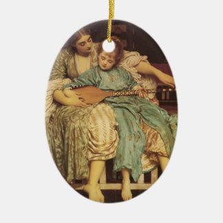 Lección de música de Federico Leighton- Ornamentos De Reyes