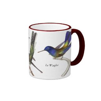 Lección de René Primevère - tres colibríes bonitos Tazas De Café