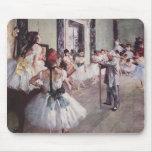 Lección del ballet de Edgar Degas Tapetes De Raton