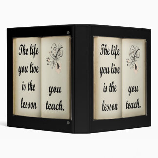 Lección usted enseña a la carpeta