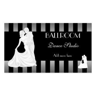 Lecciones de baile del estudio de la danza de SALÓ Tarjetas De Visita