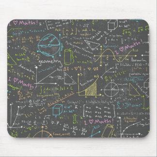 Lecciones de la matemáticas tapetes de ratones