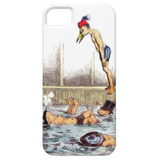 Lecciones de la natación iPhone 5 cárcasa
