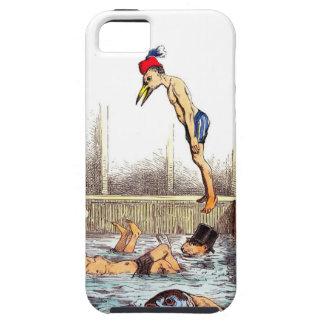 Lecciones de la natación iPhone 5 cobertura