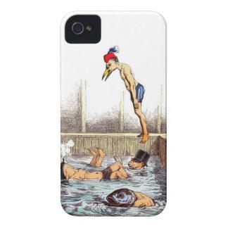 Lecciones de la natación iPhone 4 cobertura