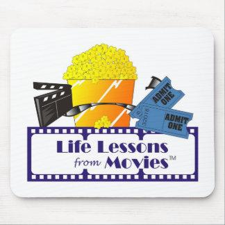 Lecciones de la vida del cojín de ratón de las pel tapete de ratón