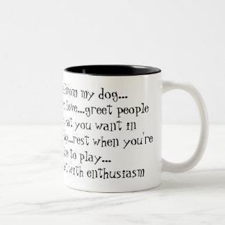 Lecciones I aprendido de mi respecto del perro… el Tazas De Café