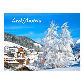 Lech am Arlberg in Austria - Postcard