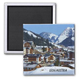 Lech en Austria - imán del recuerdo