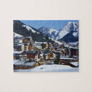 Lech est Arlberg en Austria - rompecabezas