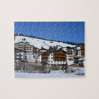 Lech in Austria in the Winter - Puzzle