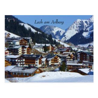 Lech in Austria - Postcard