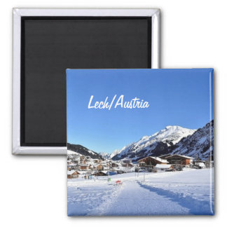 Lech in Austria - Souvenir Magnet