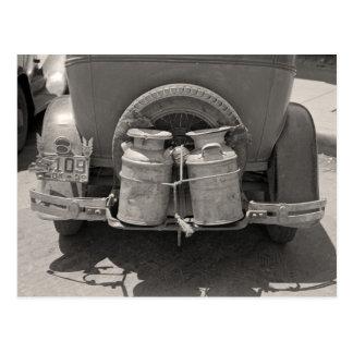 Leche Cans, 1939 Tarjeta Postal