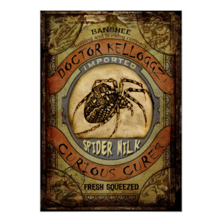 Leche de la araña poster