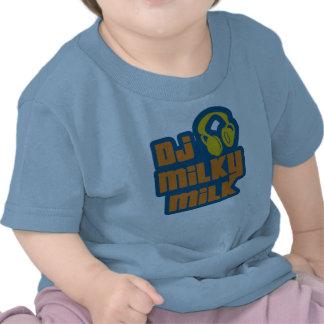 Leche lechosa de DJ Camisetas
