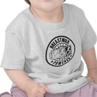 ¡Leche materna accionada! Camiseta infantil