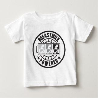 ¡Leche materna accionada! Camiseta infantil Playera