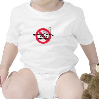 Leche materna solamente traje de bebé