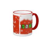 ¡Leche para la taza de Santa - modifiqúela para re