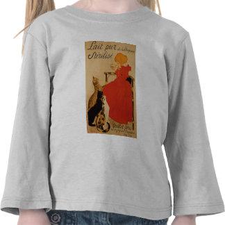 Leche pura francesa de la camisa de Vineanne