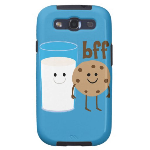 Leche y galletas BFF Galaxy S3 Protector