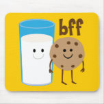 Leche y galletas BFF Tapetes De Raton