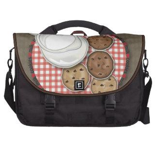 Leche y galletas bolsa para ordenador