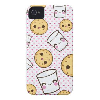 Leche y galletas Case-Mate iPhone 4 fundas
