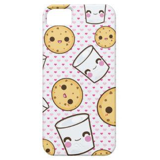 Leche y galletas funda para iPhone 5 barely there