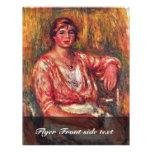 Lechera de Pierre-Auguste Renoir (la mejor Folleto 21,6 X 28 Cm
