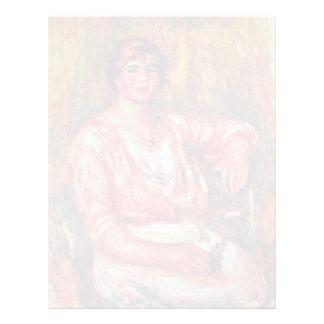 Lechera de Pierre-Auguste Renoir (la mejor Membrete Personalizado
