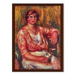 Lechera de Pierre-Auguste Renoir (la mejor Postal