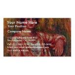 Lechera de Pierre-Auguste Renoir (la mejor Tarjetas De Visita