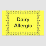 Lechería alérgica rectangular altavoz