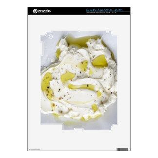 Lechería, comida, comida y bebida, Mascarpone, Pegatinas Skins Para iPad 3