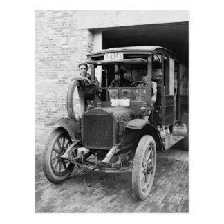 Lechería Truck, 1921 Postal