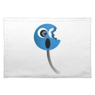 Lechón azul manteles individuales