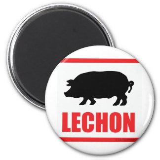 Lechon Imán Redondo 5 Cm