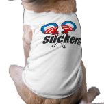 ¡Lechones de Obama! Camisa De Perro